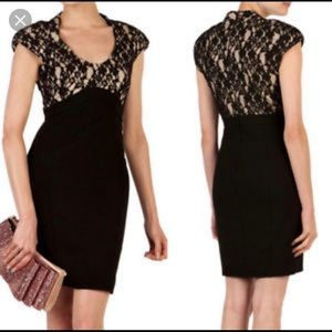 💕NWT TED BAKER BLACK LACE DETAIL BODYCON DRESS 💕